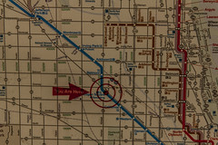 (jfre81) Tags: chicago cta logan square map station kedzie milwaukee avenue 2900n 3400w blue line el train rapid transit city urban 312 windy second james fremont photography jfre81 canon rebel xs eos