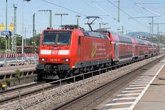 DB Regio 146 110 Weil am Rhein (daveymills37886) Tags: db 146 110 weil am rhein baureihe bombardier traxx ac1 regio