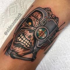 Tattoo by Mischa Matulich • Seven Seas Tattoo • San Diego • California