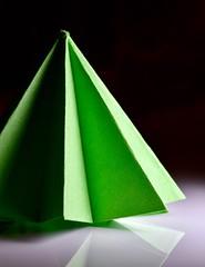 "triangle tree (metamodule) Tags: origami triangle ""macromondays"""