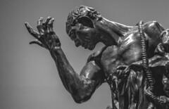 un Rodin (jemazzia) Tags: intérieur inside interior interno binnen dentro rodin sculpteur escultor scultore bildhauer sculptor beeldhouwer statue standbeeld estatua statua bronze bronzo brons