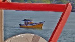 Maritime (Ben Zabulis) Tags: ship boat asia india kochi cochin river maritime marine nautical southasia 5photosaday stmickel kerala east fareastexplorer fishingboat eastern travel schatlifeboatdavit machinery vessel