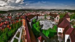 Ljubljana, panoramic view from the castle tower (Marco Trovò) Tags: marcotrovò hdr canoneos5d slovenia lubiana architecture architettura strada street città city ljubljanacastle castellodilubiana ljubljanskigrad ljubljana