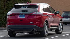 2015 Ford Edge (mlokren) Tags: car photography photo photos pic spotting 2020 pictures usa oregon automobile pacific northwest pics picture automotive vehicles transportation vehicle pnw automobiles vehicular pacnw red ford outdoors outdoor edge suv crossover fomoco 2015 cuv motorcraft