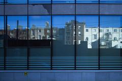 Georgian Dublin reflected (Wendy:) Tags: dublin ladlane windows reflection greorgian rere