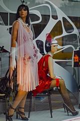 ...  Año 20 ... (Lanpernas .) Tags: años20 maniquí mannequin vitrine afterhours escaparate donostia rokkorminolta moda sigloxxi fashion