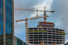 Contrast (jefvandenhoute) Tags: belgium belgië brussels brussel light architecture building construction