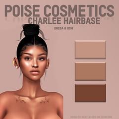 Charlee Hairbase *UPDATED* (PoiseCosmetics) Tags: secondlife genus omega bom baked on mesh poise poisecosmetics