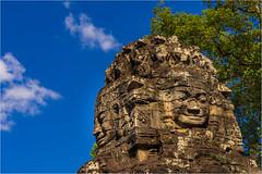 Bayon, Angkor Thom, Kambodscha (Janos Kertesz) Tags: asia cambodia face religion temple ancient stone buddhism old angkor khmer bayon history sculpture building