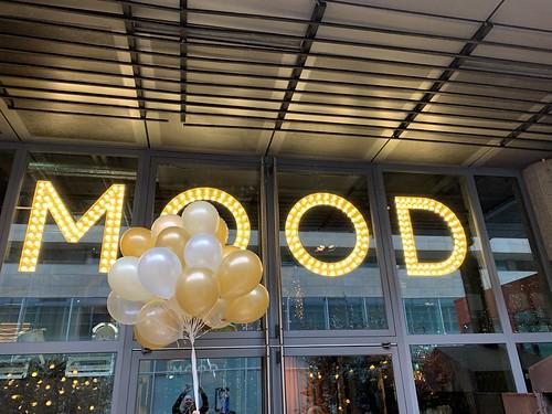 Heliumballonnen Restaurant MOOD Rotterdam