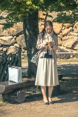 Japan - Hikone (SergioQ79 - Osanpo Photographer -) Tags: japan hikone girl woman chat nikon april 2019 d7200 giappone