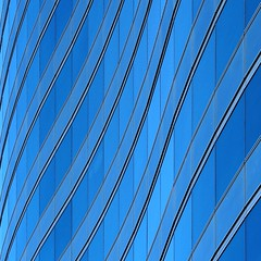 Monday Blue (2n2907) Tags: abstract architecture glass office building windows skyscraper graphic wavy lines blue