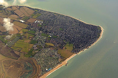 Selsey, West Sussex, England (M McBey) Tags: selsey sussex england aerial peninsula town country