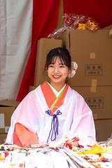 Tokaebisu of Imamiyaebisu Shrine, Osaka 2020 (Ogiyoshisan) Tags: japan japanese 日本 大阪 osaka traditional girl woman people kimono