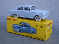 Atlas Dinky Toys Peugeot 403 Berline Saloon Car  Mint & Boxed (beetle2001cybergreen) Tags: atlas dinky toys peugeot 403 berline saloon car mint boxed another superb reproduction french