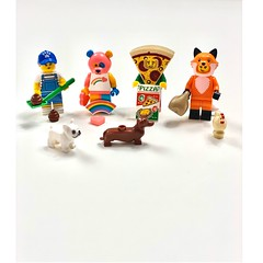 LEGO mini minifigures series 19. These are adorable they are so vibrant and detailed plus the accessories they come with are awesome. I would 100% recommend collecting these. (emma.reviews01) Tags: legophotography instagram youtube £4800 legocollector's legofan legomad dogs pizza bare fox accessories cute awesome amazing 16tocollect series19 lovelego legoland collectthemall blindbag lego legominifigures minifigures