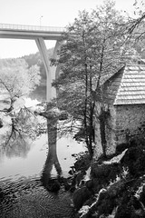 Rastoke (Koprek) Tags: fomapan 100 film analog 6x9 croatia rastoke fuji fujigw690ii medium format koprek landscape october 2019 reflexion reflections water river