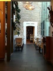 Though the doorway (daveandlyn1) Tags: doorway restaurant bodelwyddandinningroom warnerleisure warnerholidays awarnersleasurehotel northwales denbighshire smartphone psdigitalcamera cameraphone pralx1 p8lite2017 imagetakenwithahuaweip8 huaweip8