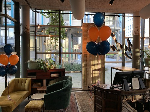 Tafeldecoratie 6ballonnen Ayla Rotterdam