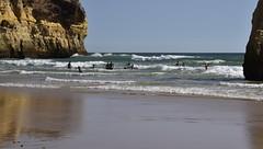 Die Küste bei Três Irmãos; Portimão, Algarve (302) (Chironius) Tags: portugal algarve portimão schatten atlantik atlantischerozean atlanticocean naturstein