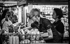 Bread and cheese (Chris (a.k.a. MoiVous)) Tags: streetphotography adelaidecentralmarket adelaidecbd streetlife