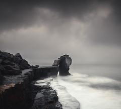 Pulpit Rock (Dan Portch) Tags: pulpit rock weymouth portland bill landscape long exposure uk coast coastline seascape sea rough seas moody dark clouds