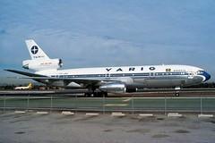 PP-VMV VARIG DC-10-30 at KLAX (GeorgeM757) Tags: ppvmv varig dc1030 klax lax mcdonnelldouglas aircraft aviation airplane airport jetliner airliner georgem757 predigital taxiig trijet om2 widebody