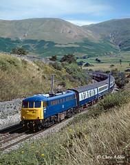 BR Blue AC Electric (chrissyMD655) Tags: wcml lowgill br blue ac electric class 85 85031 howgill fells