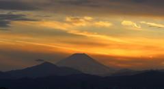 Dramatic Evening (seiji2012) Tags: japan mtfuji sunset 富士山 シルエット silhouette happyplanet asiafavorites