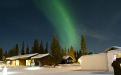 Jukkasjärvi Sweden (skullwull) Tags: aurora auroraborealis sky nightsky stars ice jukkasjärvi