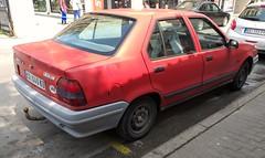 1990 Renault 19 Chamade TXE (FromKG) Tags: renault 19 txe chamade red car kragujevac serbia 2019
