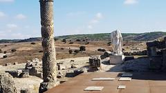 Segóbriga (alvaro31416) Tags: segobriga ruinas estatua columna romana ciudad arqueologia cuenca castilla