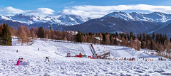 Crans Montana, kids winter playground