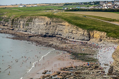 Photo of Southerndown Beach, Dunraven Bay, South Wales.