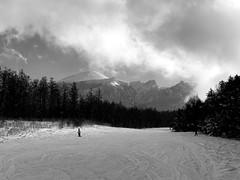 Mountain Gazing (jasohill) Tags: sky mountain snow nature monochrome adventure iwate 2020 drama city japan skiing hachimantai