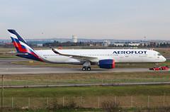 F-WZGT 1st Airbus A350 Aeroflot (@Eurospot) Tags: airbus a350900 a350 aeroflot toulouse blagnac fwzgt vqbfy
