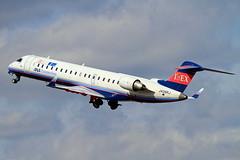 JA06RJ Ibex Airlines Bombardier CRJ-702ER NG (CL-600-2C10) (阿樺樺) Tags: ja06rj ibexairlines bombardier crj702er ng cl6002c10