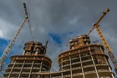 Twins (jefvandenhoute) Tags: belgium belgië brussels brussel light construction building