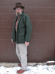 1-13-2020 Today's Clothes (Michael A2012) Tags: this mans winter style vintage fashion knox twenty fedora hat fur felt filson double mackinaw jacket wool pendleton duluth trading firehose red wing