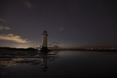 Point of Ayr Lighthouse, Talacre (Frightened Tree) Tags: lighthouse light house wales talacre landscape coast coastal night sky astro astrophotography nikon seascape frightenedtree frightenedtreephotography wrexham photographers