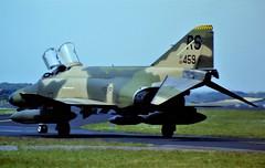 F-4E Phantom II 68-0459 RS 512TFS/86TFW, USAFE. Soesterberg Air Base, the Netherlands. 16 May 1984. (Aircraft throughout the years) Tags: f4 f4e phantom ii 680459 rs 512tfs 86tfw usafe usaf soesterberg air base ssb ab netherlands may ramstein 1984