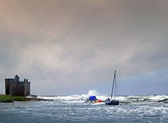 Portencross Brendan1 (g crawford) Tags: portencross ayrshire northayrshire storm stormy brendan stormbrendan wind windy gale water sea seaside clyde riverclyde firthofclyde weather scotland scottish scottishweather bythesea panasonic lumix tz70 crawford westkilbride castle portencrosscastle
