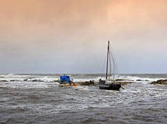 Portencross Brendan3 (g crawford) Tags: portencross ayrshire northayrshire storm stormy brendan stormbrendan wind windy gale water sea seaside clyde riverclyde firthofclyde weather scotland scottish scottishweather bythesea panasonic lumix tz70 crawford westkilbride