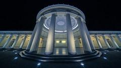 columns & dome (Blende1.8) Tags: aachen elisenbrunnen säulen columns dome kuppel kuppeldach night nightscape wideangle laowa 1018mm nikonz nikonz6 nacht nachtaufnahme ultraweitwinkel europe europa nrw architecture architektur building historic