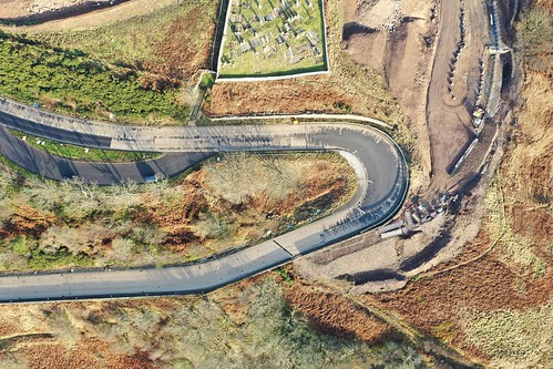 A9 Berriedale Braes construction work