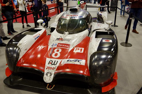 2018 Toyota Gazoo Racing's Toyota TS050 Hydrid