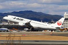 JA245J J-Air  Embraer 190STD (ERJ-190-100STD) (阿樺樺) Tags: ja245j jair embraer 190std erj190100std