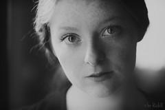 Gimme a Word (RickB500) Tags: portrait girl rickb rickb500 model beauty expression face cute hair freckles