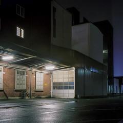 Warehouse (Christopher Magni Kjerholt) Tags: 75mm35 mediumformat kodakektar100 kodak ektar 100 6x6 rolleiflexf