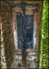 Window to the past.... (Sherrianne100) Tags: medieval window abbey montsaintmichel normandy france